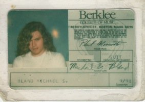 Mike Bland's 1991 Berklee College of Music ID
