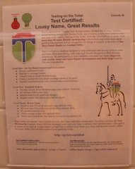 "Testing on the Toilet Episode 49, ""Test Certified: Lousy Name, Great Results"""